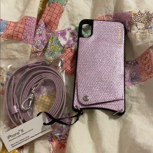 Bandolier crossbody iPhone case